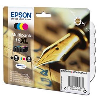 Epson originální ink C13T16364012, T163640, 16XL, CMYK, 3x6.5/12.9ml
