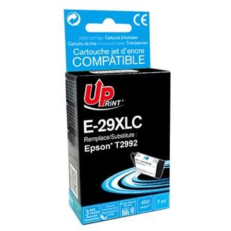 UPrint kompatibilní ink s C13T29924010, T29XL, cyan, 450str., 7ml, E-29XLC, pro Epson Expression Home XP-235,XP-332,XP-335,XP-432,