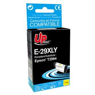 UPrint kompatibilní ink s C13T29944010, T29XL, yellow, 450str., 7ml, E-29XLY, pro Epson Expression Home XP-235,XP-332,XP-335,XP-43