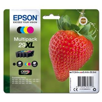 Epson originální ink C13T29964012, T29XL, CMYK, 11,3/3x6,4ml, Epson Expression Home XP-235,XP-332,XP-335,XP-432,XP-435