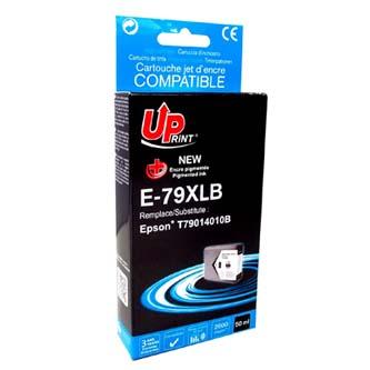 UPrint kompatibilní ink s C13T79014010, C13T79014010, 79XL, XL, black, 2600str., 50ml, E-7