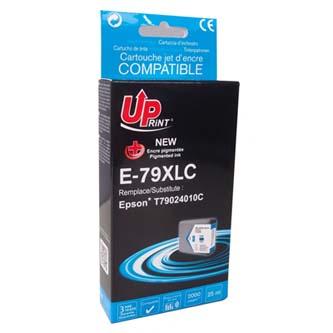 UPrint kompatibilní ink s C13T79024010, C13T79024010, 79XL, XL, cyan, 2000str., 25ml, E-79
