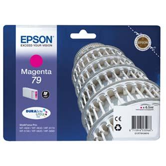 Epson originální ink C13T79134010, 79, L, magenta, 800str., 7ml, 1ks, Epson WorkForce Pro WF-5620DWF, WF-5110DW, WF-5690DWF