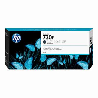 HP originální ink 1XB30A, HP 730F, matte black, 300ml, HP DesignJet T1700,T1700 PostScript,T1700dr,T1700dr P