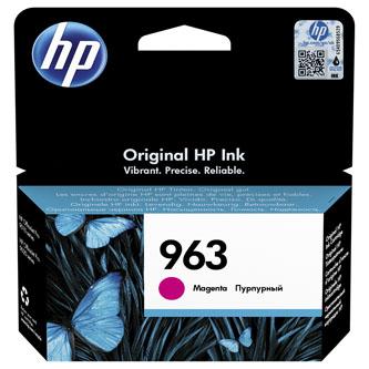 HP originální ink 3JA24AE, HP 963, magenta, 700str., 10.77ml, HP Officejet Pro 9010, 9012, 9014, 9015, 9016, 9019/P