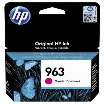 HP originální ink 3JA24AE#301, HP 963, magenta, blistr, 700str., 10.77ml, HP Officejet Pro 9010, 9012, 9014, 9015, 9016, 9019/P