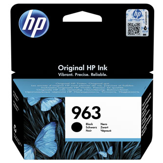 HP originální ink 3JA26AE#301, HP 963, black, blistr, 1000str., 24.09ml, HP Officejet Pro 9010, 9012, 9014, 9015, 9016, 9019/P