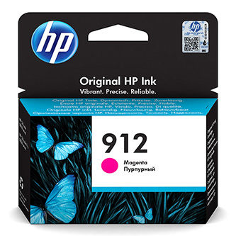 HP originální ink 3YL78AE#301, HP 912, magenta, blistr, 315str., high capacity, HP Officejet 8012, 8013, 8014, 8015 Officejet Pro