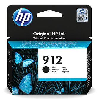 HP originální ink 3YL80AE, HP 912, black, 300str., high capacity, HP Officejet 8012, 8013, 8014, 8015 Officejet Pro 802