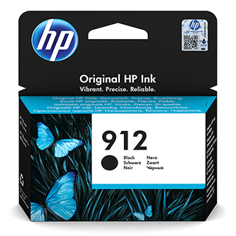 HP originální ink 3YL80AE#301, HP 912, black, blistr, 300str., high capacity, HP Officejet 8012, 8013, 8014, 8015 Officejet Pro 80
