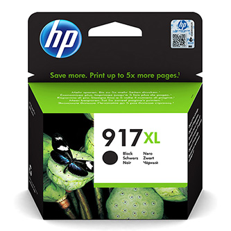 HP originální ink 3YL85AE#301, HP 917XL, black, blistr, 1500str., extra high capacity, HP Officejet Pro 8020, 8022, 8023, 8024, 80