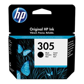 HP originální ink 3YM61AE#301, black, blistr, 120str., HP 305, HP DeskJet 2300, 2710, 2720, Plus 4100