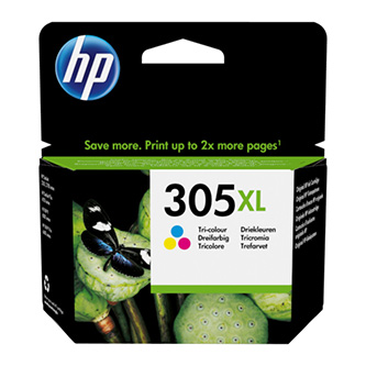 HP originální ink 3YM63AE, Tri-colour, High yield, HP DeskJet 2300, 2710, 2720, Plus 4100