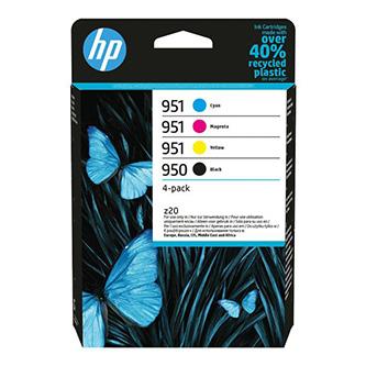 HP originální ink 6ZC65AE#301, HP 950/951, CMYK, blistr, HP Officejet Pro 276dw 8100 ePrinter