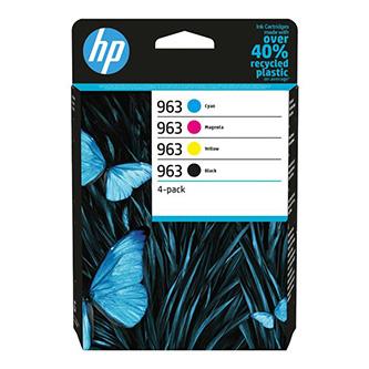 HP originální ink 6ZC70AE#301, HP 963, CMYK, blistr, HP Officejet Pro 9010, 9012, 9014, 9015, 9016, 9019