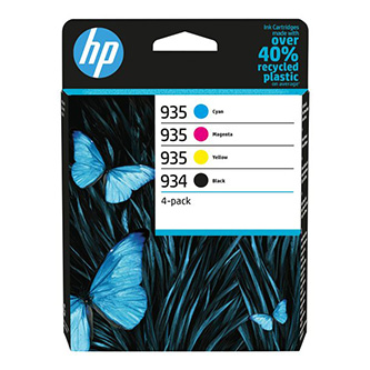 HP originální ink 6ZC72AE, HP 934/935, CMYK, multipack, HP Officejet 6812,6815,Officejet Pro 6230,6830,6835
