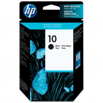 HP originální ink C4844A, HP 10, black, 1400str., 69ml, HP DeskJet 2xxx, Business InkJet 2xxx, DesignJet 5xx