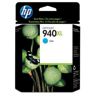 HP originální ink C4907AE, No.940XL, cyan, 1400str., 16ml, HP Officejet Pro 8000, Pro 8500