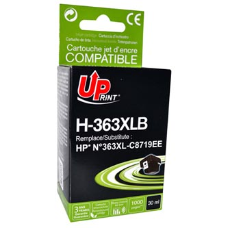 UPrint kompatibilní ink s C8719EE, HP 363, black, 30ml, H-363B, pro HP Photosmart 8250, 3210, 3310