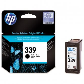 HP originální ink C8767EE, No.339, black, 800str., 21ml, HP Photosmart 8150, 8450, OJ-7410