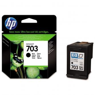 HP originální CD887AE, HP 703, black, HP Deskjet