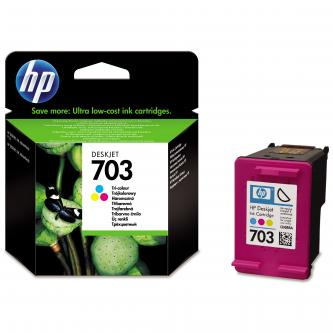 CD888AE, No.703, tricolor, HP Deskjet