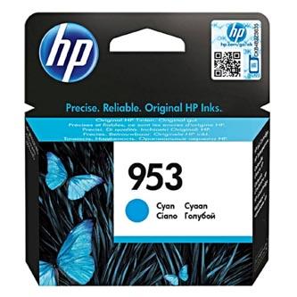 HP originální ink F6U12AE, cyan, 700str., 10ml, No.953, HP OJ Pro 8218,8710,8720,8740