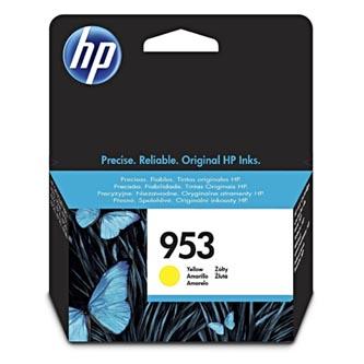 HP originální ink F6U14AE, yellow, 700str., 10ml, No.953, HP OJ Pro 8218,8710,8720,8740