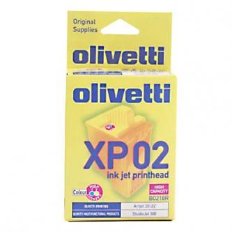 Olivetti originální tisková hlava B0218, color, 460str., Olivetti ArtJet 20, 22, Studio Jet 300, XP02