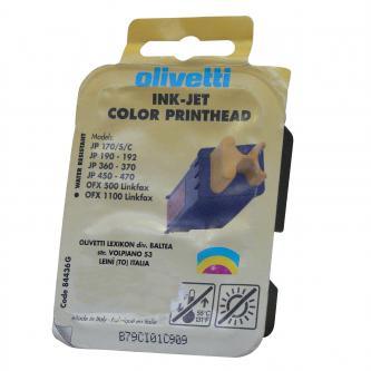 Olivetti originální ink 84436, color, 160str., Olivetti JP-170, 360, 370, 450, 470, Jet-Lab 400, 500, 600