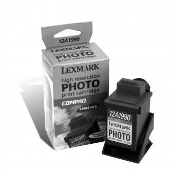 Lexmark originální ink 12A1990E, #90, photo color, 450str., Lexmark Z43, Z53, Z32, Z42, Z51, Z52, 3200, 5000, 7000