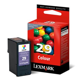 Lexmark originální ink 18C1429E, #29, color, return, Lexmark Z845, P350, Z1300, Z1320