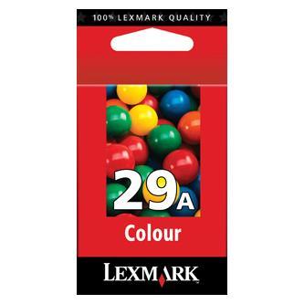 Lexmark originální ink 18C1529E, #29A, color, Lexmark Z845, P350, Z1300, Z1320