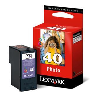 Lexmark originální ink 18Y0340E, #40, photo color, Lexmark X9350