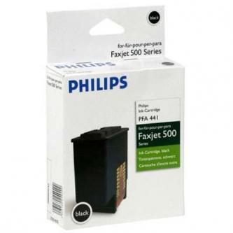 Philips originální ink PFA 441, black, 440str., 253014355, Philips Faxjet 520, 525, 555