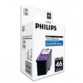 Philips originální ink PFA 546, color, 1000str., high capacity, Philips Crystal 650, 660, 665, 680