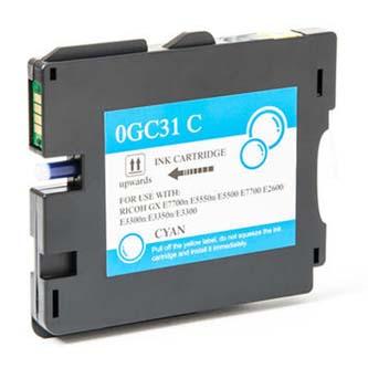 Ricoh originální gelová náplň 405702, cyan, 2300str., typ GC-31HC, Ricoh GXE5550N, GXE7700