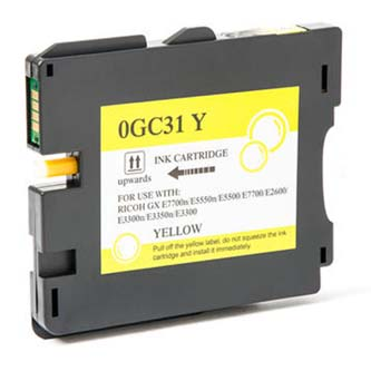 Ricoh originální gelová náplň 405704, yellow, 2300str., typ GC-31HY, Ricoh GXE5550N, GXE7700