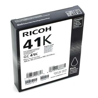 Ricoh originální gelová náplň 405761, black, 2500str., GC41HK, Ricoh AFICIO SG 3100, SG 3110DN, 3110DNW