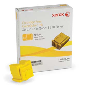 Xerox originální ink 108R00956, yellow, 17300str., západní Evropa typ Xerox ColorQube 8870, 8880