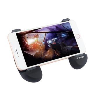 Gamepad držák E-Blue pro mobilní telefony, černý, pogumovaný, protiskluzový povrch