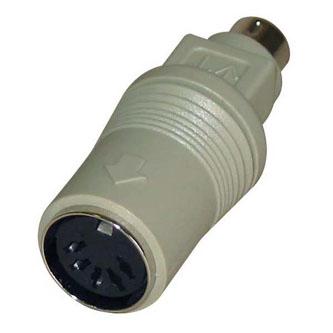 Klávesnice Redukce, PS/2 M-5 pin F, 0, černá