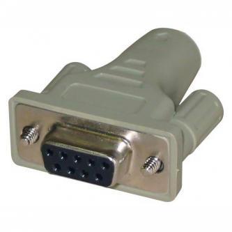 Myš Redukce, sériový port, PS/2 F-9 pin F, 0, šedá, Logo