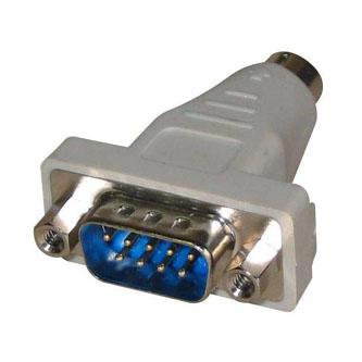 Myš Redukce, sériový port, PS/2 M-9 pin M, 0, šedá
