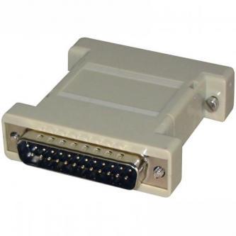 PC Redukce, paralelní port, 25 pin M-25 pin F, 0, šedá, Logo