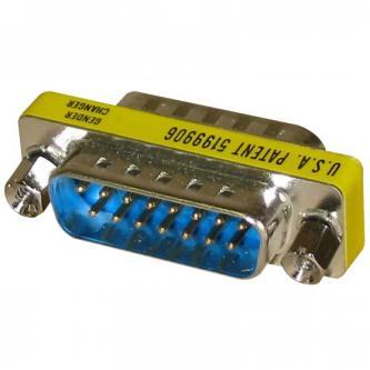 Redukce, 25 pin M-9 pin M, 0, stříbrná, Logo