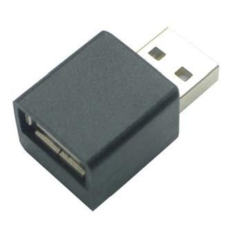 USB (2.0) Redukce, USB A (2.0) M-USB A (2.0) F, 0, černá, redukce k nabíjení iPadu
