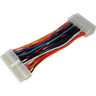 PC Redukce, napájení základní desky, 20 pin (ATX) M-20 pin (ATX) F, 0, color, pro napájení základní desky PC