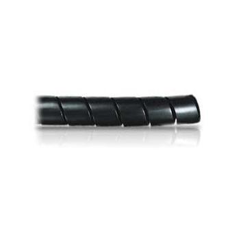 Svazkovací spirála, 15-60mm, černá, 10m, (8mm pr.)