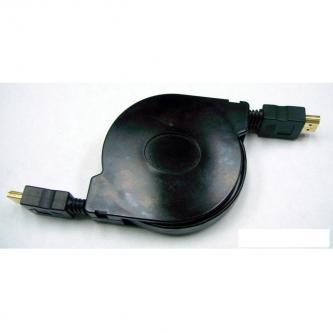 Kabel HDMI M- HDMI (mini) M, HDMI HIGH SPEED with ETHERNET, 1.2m, černý